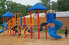 New Playground at Peppermint Park Camping Resort