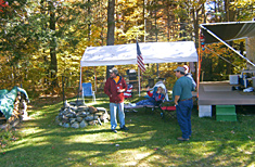 Seasonal Campers at Peppermint Park Camping Resort