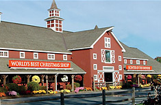 Yankee Candle Flagship Store in nearby South Deerfield