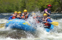 Whitewater Rafting on the Deerfield River with Zoar Outdoor